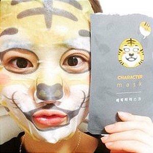 Máscara Hidratante / Sheet mask Character Mask - Tiger (THEFACESHOP)
