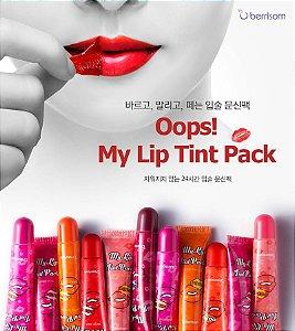 """Batom de Tatuagem """"Oops My Lip Tint Pack"""" da Berrisom"""