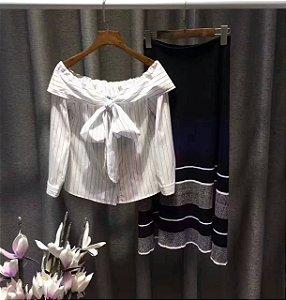BLUSA+SAIA O seu estilo é você, escolha a sua tendência. Encontre seu estilo 100% algodão