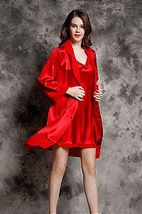 YIYUAN Marca Sexy Mujeres de Seda Camisones Sleepshirts Camisón de Seda Real 2017 Moda Con Cuello