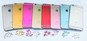 Carcaça do iphone 6 6s novidade, varias cores;