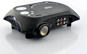Projetor portátil projetor DVD com função de receptor de TV