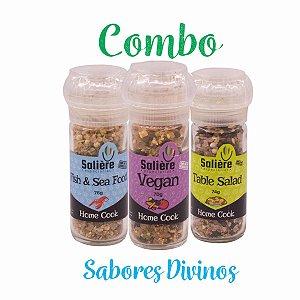 Combo Salière Home Cook - Sabores Divinos