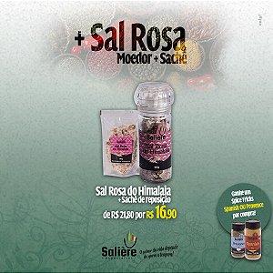 Sal Rosa do Himalaia + Sachê