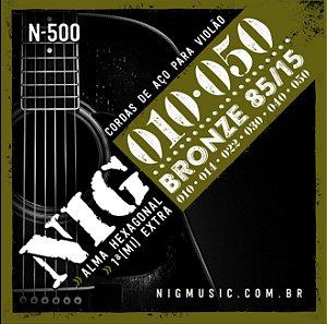 ENC. NIG VIOLÃO AÇO BRONZE (85/15) 0.010