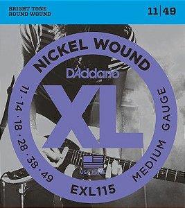 ENC. DADDARIO GUITARRA EXL115+B+PL011