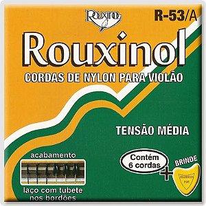 ENC. ROUXINOL VIOLÃO NYLON preta/dourada