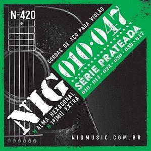 ENC. NIG VIOLÃO AÇO 6 cordas - 010/047