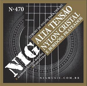 ENC. NIG VIOLÃO NYLON cr/prat. c/ bol.