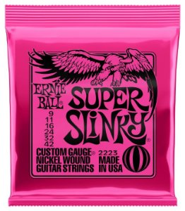 ENC. ERNIE BALL GUITARRA 009-042 SUPER SLINK NIQU
