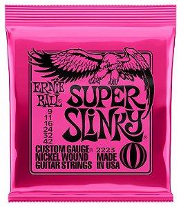ENC. ERNIE BALL GUITARRA 009-042 SUPER SLINK NIQU