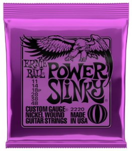 ENC. ERNIE BALL GUITARRA 011-048 POWER SLINK NIQUE