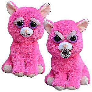 Feisty Pets Pelúcia Gata Pink