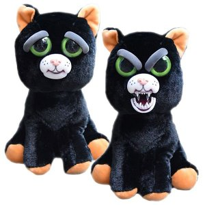 Feisty Pets Pelúcia Gato Preto