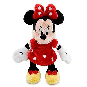 Minnie de Pelúcia Vermelha Pequena