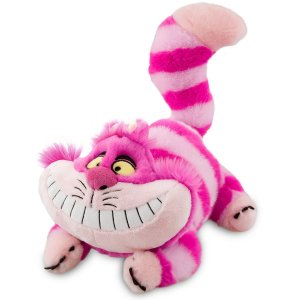 Gato Cheshire de Pelúcia Alice No País Das Maravilhas