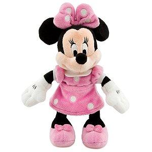 Minnie de Pelúcia Rosa Pequena