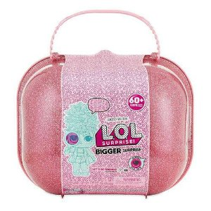 Maleta com Mini Bonecas - LOL Surprise - Bigger Surprise - 60 Surpresas