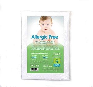 Capa Impermeável para Travesseiro de Bebê Allergic Free 30 x 40cm