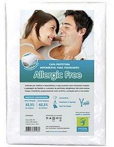 Capa Impermeável para Travesseiro Adulto Allergic Free 50 x 70cm