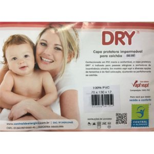 Capa Protetora Impermeável para Colchão Berço Dry 100% PVC