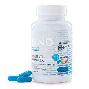 Suplemento Vitamínico HND Multi-Vit Complex Homens 60 cáps