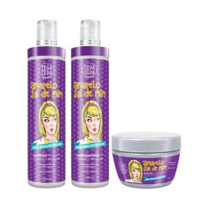 Kit Amarelo Sai de Mim Shampoo + Condicionador + Máscara