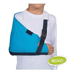 Tipoia Imobilizadora Infantil Velpeau Mercur Cor Azul