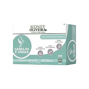Vitamina Sidney Oliveira Fortalecedora para Cabelos e Unhas - 30 caps