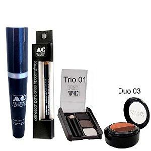 Kit de Maquiagem Hipoalergênica para Olhos Completo Cor 1 - 03