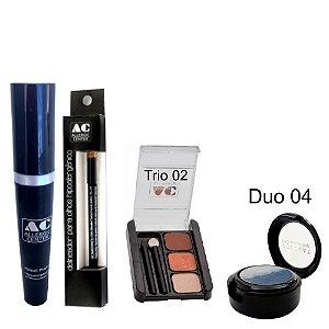 Kit de Maquiagem Hipoalergênica para Olhos Completo Cor 2 - 04