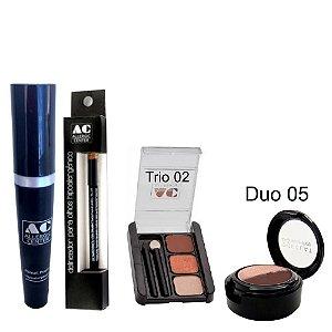 Kit de Maquiagem Hipoalergênica para Olhos Completo Cor 2 - 05