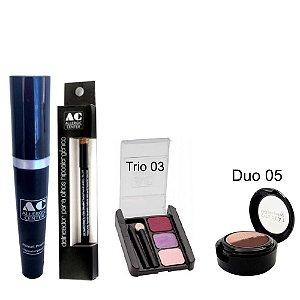 Kit de Maquiagem Hipoalergênica para Olhos Completo Cor 3 - 05