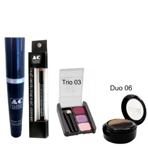 Kit de Maquiagem Hipoalergênica para Olhos Completo Cor 3 - 06