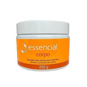 Bálsamo para Massagem Corporal Anti Celulite 250g Essencial