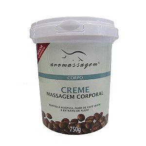 Creme Aromassagem para Gordura Localizada Café Verde 750g Essencial