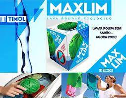MAXLIN - LAVAR ROUPA SEM SABÃO