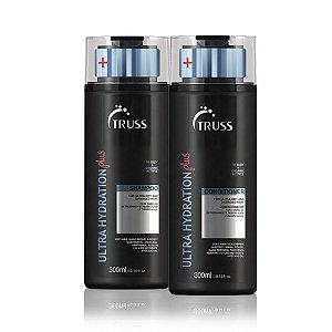 Truss Ultra Hydration Plus Shampoo + Condicionador 300ml Cabelos Muito Ressecados
