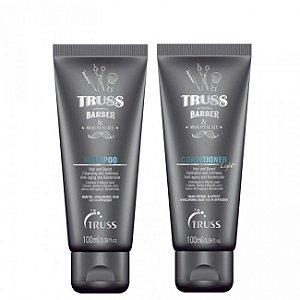 Truss Barber Shampoo + Condicionador 100ml