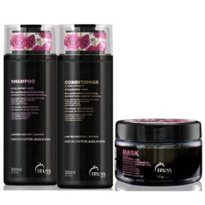 Truss Perfect Alexandre Herchovitch Shampoo + Condicionador + Máscara