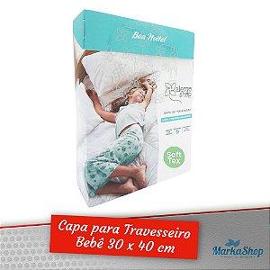 Capa para Travesseiro Soft Tex Anti Ácaros Antialérgica Bebê 30 x 40 - Alergoshop