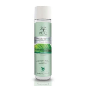 Shampoo Pure Parabeno Free Extrato de Ervas 300ml Cabelos Mistos