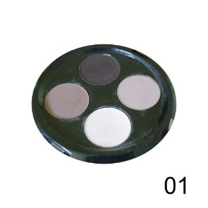 Quarteto de Sombras Top Beauty Cor 01