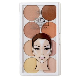 Paleta Iluminadora 3D Highlighter RK by Kiss NY
