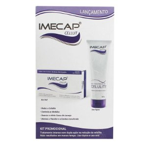 Imecap Cellut Kit Gel Creme Redutor de Celulite + Cellut 60 cápsulas