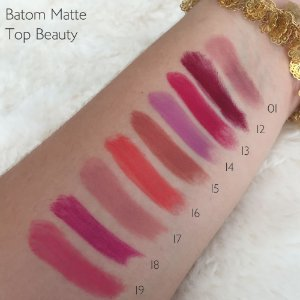 Batom Matte Dry Lip Top Beauty