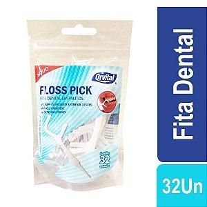 Fita Dental em Palitos Floss Pick c/32 Orvital
