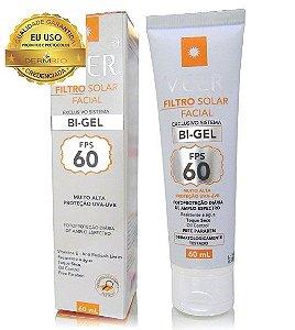 Protetor Solar Veer Bi-Gel FPS 60 Facial 60g