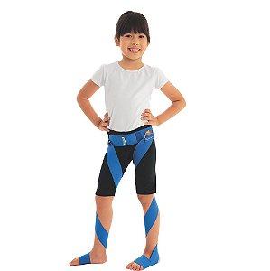 Aparelho Elástico para Rotação de Membros Inferiores Sling Infantil Chantal Cor Azul
