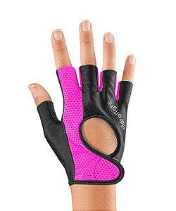 Luva de Musculação ou Ciclismo Smart Tamanho M Pink